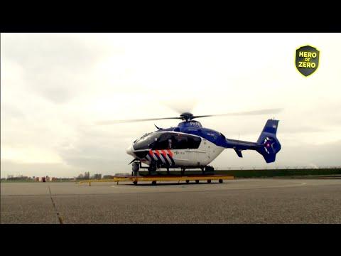Operatie Zulu - De politiehelikopter in actie boven Ede