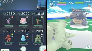 TEAM 2n GENERACIÓN VS GYM L10! BLISSEY VS DRAGONITE! [Pokémon GO-davidpetit]