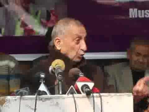 PROFESSOR ABDUL GANI BHAT MUSLIM CONFERENCE CHAIR MAN