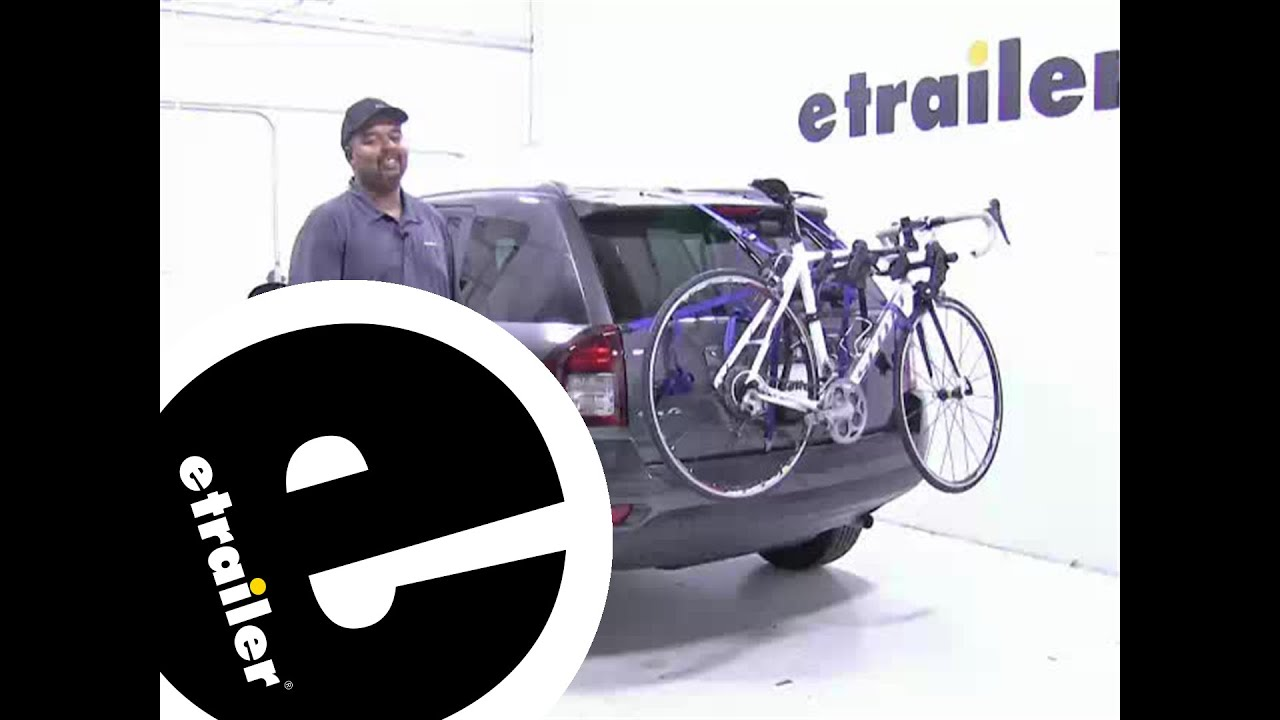 Review Of The Thule Passage Trunk Mounted Bike Rack On A 2016 Jeep