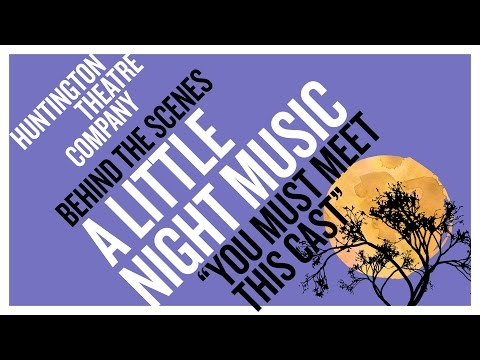 You Must Meet this Cast: The characters in A LITTLE NIGHT MUSIC