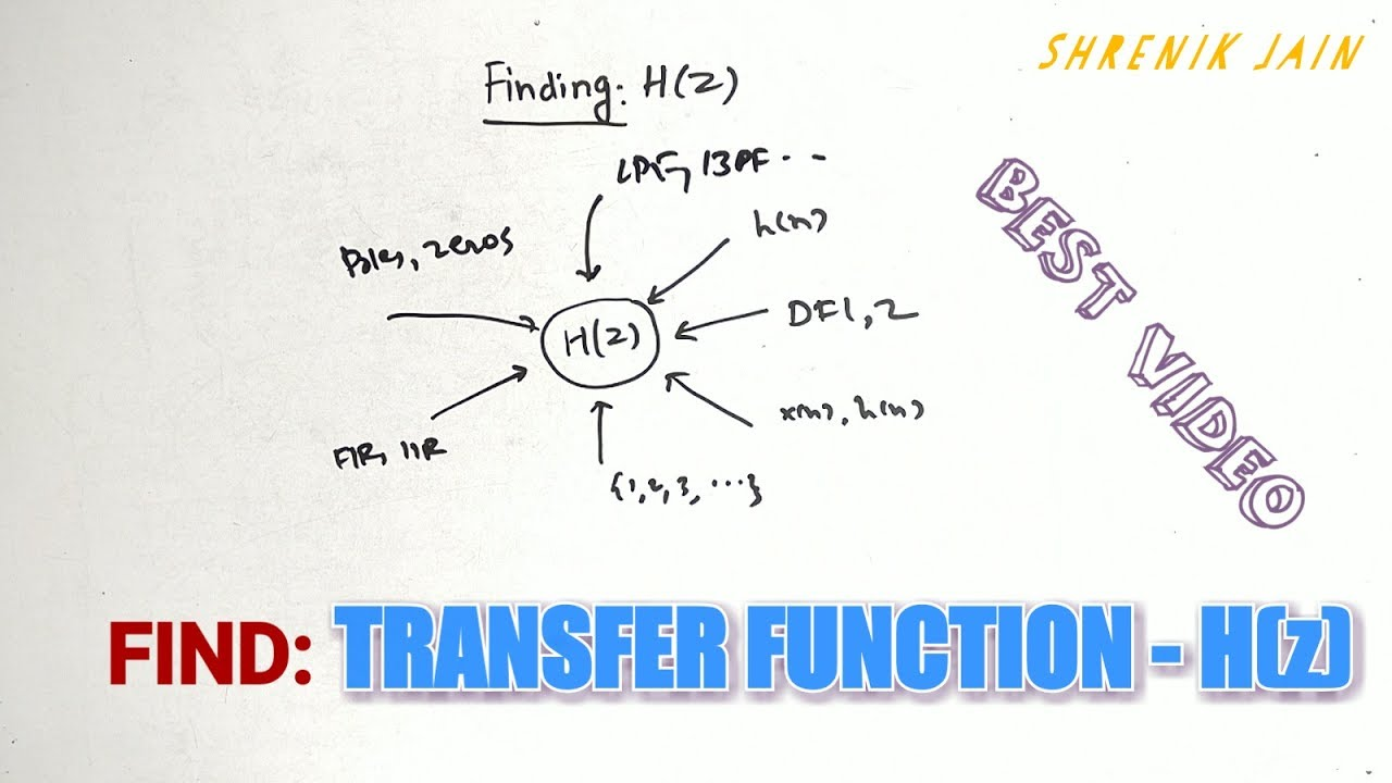 Transfer Function In Signals And Systems Youtube