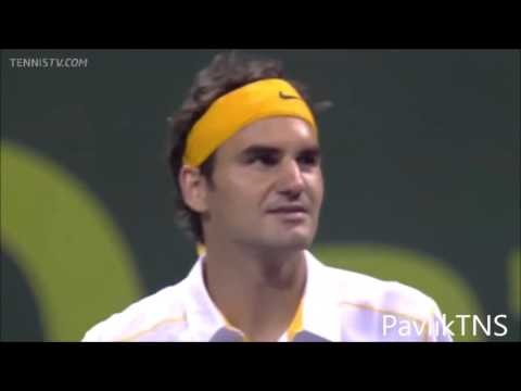 Roger Federer Vs Nikolay Davydenko Highlights ᴴᴰ Doha 2011 FINAL