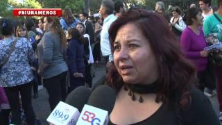 Video: Multitudinaria marcha en Salta en contra de la violencia de género