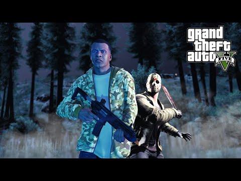 Маньяк в GTA 5: жуткий квест, поиск улик, необычный револьвер (Кто скрывается в Лос-Сантосе?)