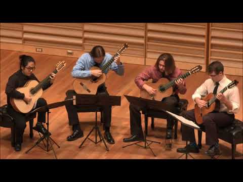 Fredonia Guitar Quartet - Gentle Giant On Reflection Cover