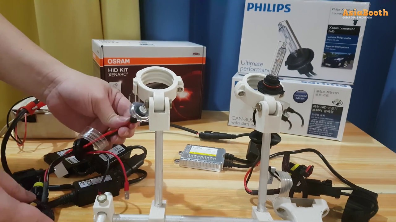 philips hid vs osram hid xenon conversion kit [ 1280 x 720 Pixel ]