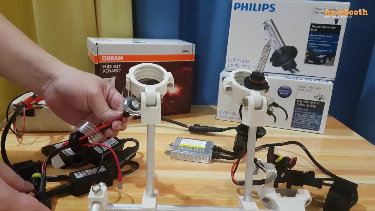 medium resolution of philips hid vs osram hid xenon conversion kit youtube philips hid wiring diagram