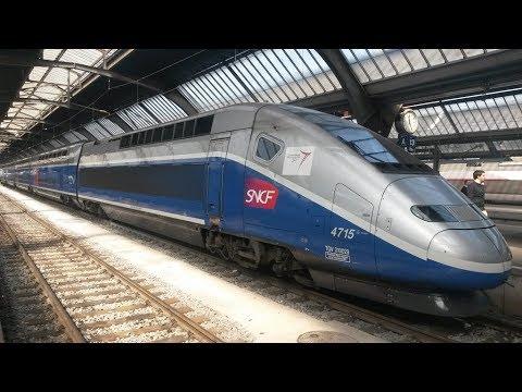 CAB RIDE EN TGV DUPLEX ENTRE LILLE EUROPE ET PARIS NORD