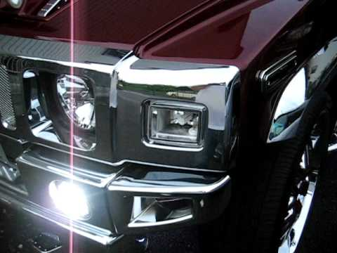Hummer H2 Hid Strobe Kit Head Light Fog And Other Youtube