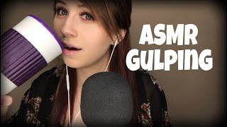 ASMR | Gulping Sounds | No Talking