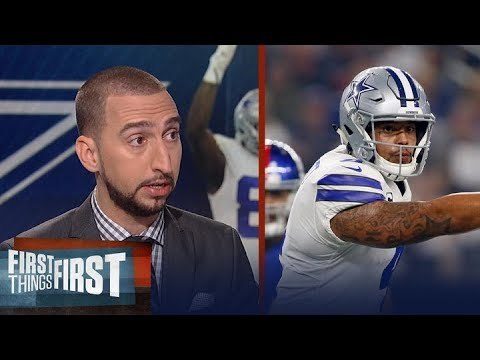 Are the Dallas Cowboys actually underrated? Nick Wright sure thinks so | FIRST THINGS FIRST