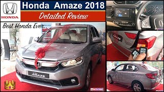 Amaze 2018 Review | New Amaze 2018 Interior | 2018 Amaze Features,Price