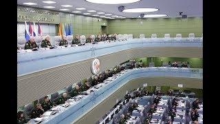 Селекторное совещание с руксоставом ВС РФ под председательством Сергея Шойгу (5.02.2019)