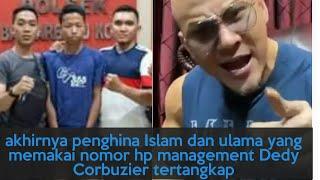 Terciduk,Pembuat Akun Rezahardiansyah Penghina Islam  Dengan Memakai Nomor Manajemen Dedy Corbuzier