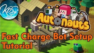 Fast Charge Bot Setup - Autonauts Tutorial (Production Chain Colony Builder) Release