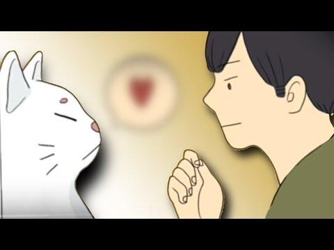 นิทาน ชายหนุ่มกับแมวสีขาว