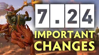 7 24 Dota Update ALL IMPORTANT CHANGES