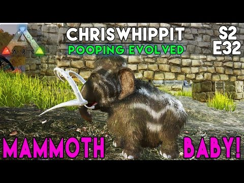 PERFECT TAMED 120 MAMMOTH + MAMMOTH BABY! | ARK Survival Evolved | S2E32