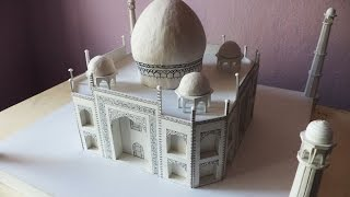 ALL VIDEOS (5x) | How to make a model of Taj Mahal