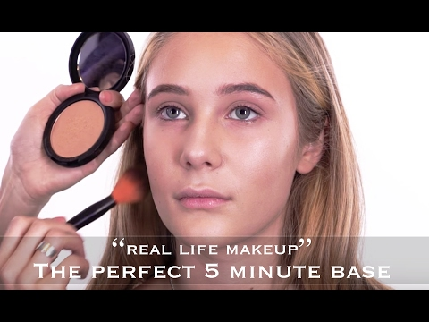 Real Life Make Up | The Perfect 5 Minute Base