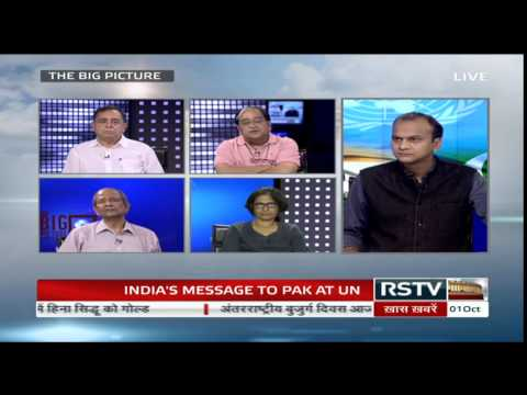 The Big Picture – India's message to Pakistan at the UN