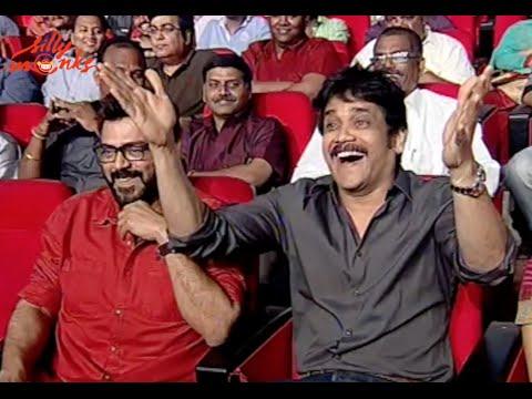 Akhil Akkineni's Debut Film Grand Launch Part 2 || Sayesha Saigal, Nithin, V.V. Vinayak
