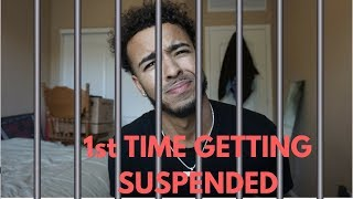 THE FIRST TIME I GOT SUSPENDED !!! (GOES REALLY BAD) 👮 👮