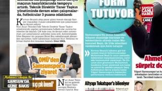 Mahmut Erdogan ile Samsun'da Gune Bakis