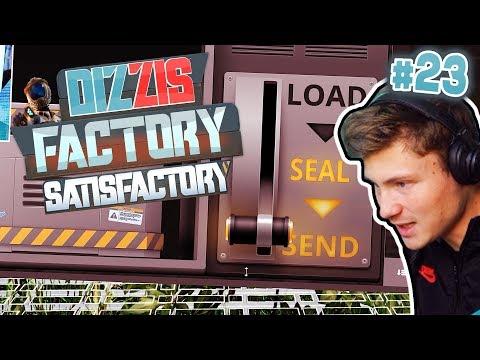 IN DEN WELTRAUM SENDEN | Satisfactory / Dizzis Factory #23 | izzi & Dner