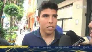 Luis Gabriel Rey, Carlos Gutierrez y Luis A Mendoza: Refuerzos de America A2013 Junio17