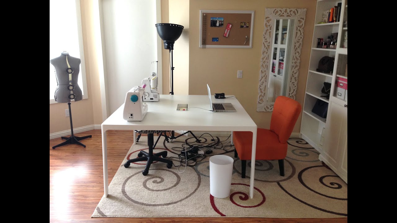 May 14, 2017. Want to see a tour of my new cutting room corner complete with a ikea cutting table and also the space where i also store all my fabrics,