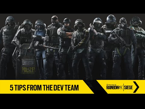 Tom Clancy's Rainbow Six Siege – 5 Tips from the Dev Team [UK]