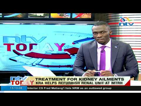 KRA helps refurbish renal unit at Moi Teaching and Referral Hospital