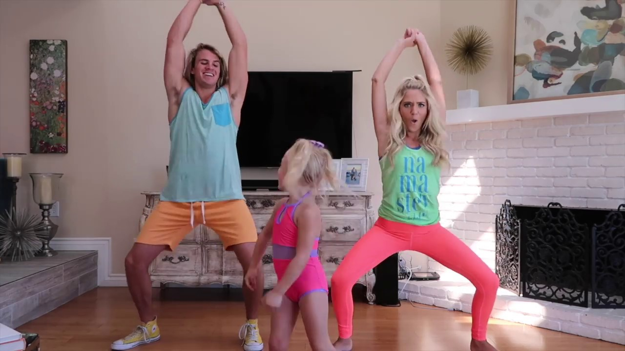 HILARIOUS DANCE CLASS WITH 4 YEAR OLD EVERLEIGH IMPOSSIBLE
