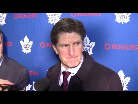 Maple Leafs Post-Game: Mike Babcock - December 23, 2017