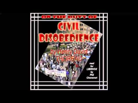 On the Duty of Civil Disobedience (FULL Audiobook)