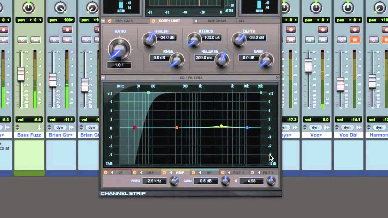 Mixing Vocals To Sit On Top - TheRecordingRevolution.com