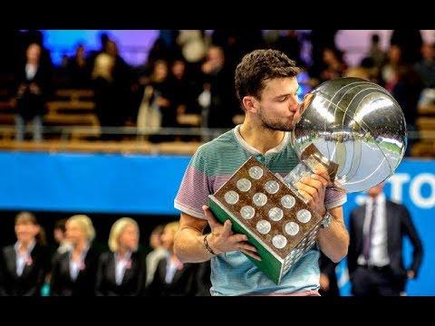Grigor Dimitrov vs. David Ferrer 2-6, 6-3, 6-4 If Stockholm Open (F) 20.10.2013. (Full Event)