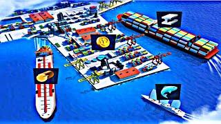 Sea port: Ship Simulator & Strategy Tycoon Game | Nice Sea port Ship Simu Game | Ship Android Game screenshot 5