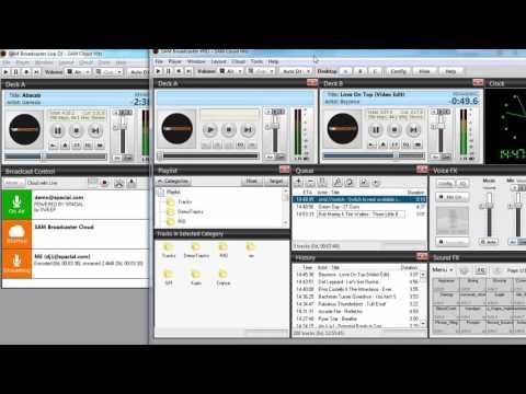 SAM Broadcaster Cloud: Advanced Live Broadcasting Tutorial