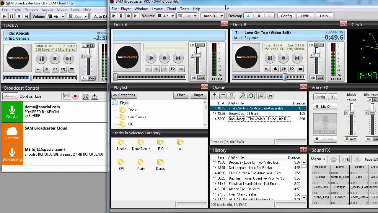 SAM Broadcaster Cloud: Advanced Live Broadcasting Tutorial - YouTube