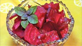 Очень вкусная капуста  квашенная без чеснока по-грузински !/ /Квашенная капуста со свеклой.