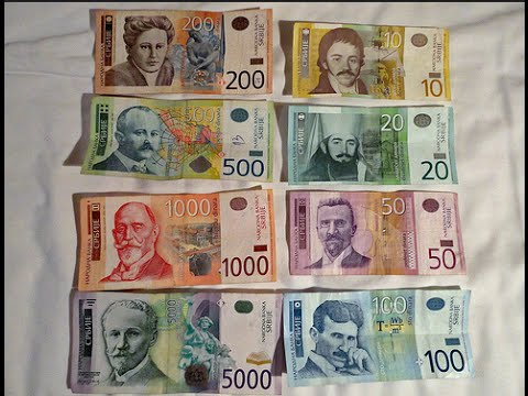 Showing Serbian Money.... Part 2 of 2
