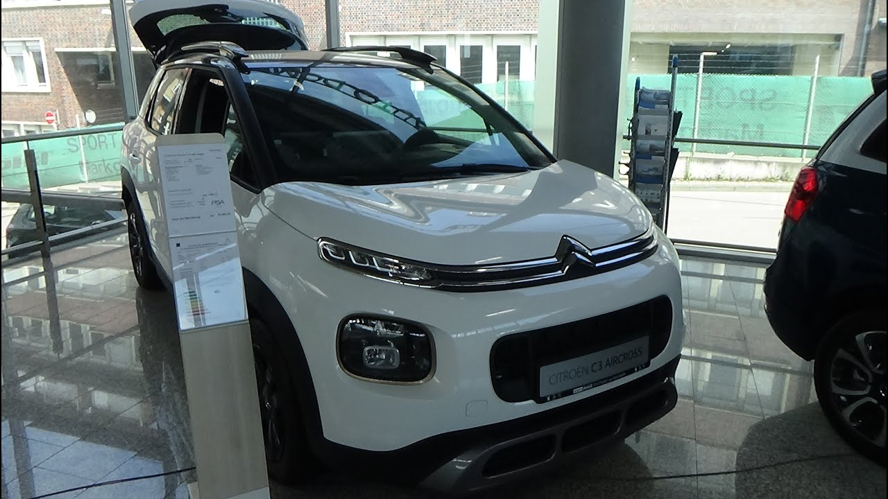 2020 Citroen C3 Aircross PureTech 110 Origins - Exterior and Interior - Auto Domicil Stuttgart 2020