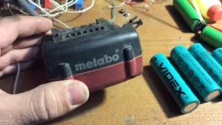 Замена аккумуляторов шуруповерта