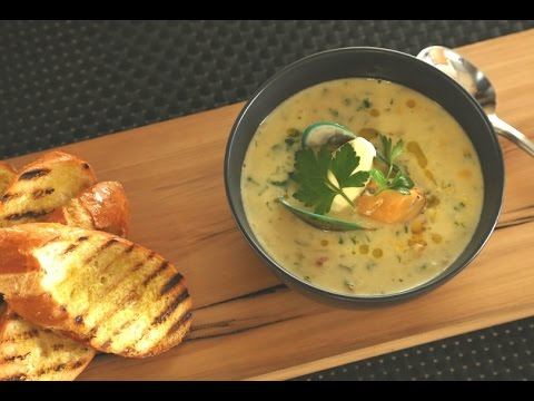 how to make mussel chowder
