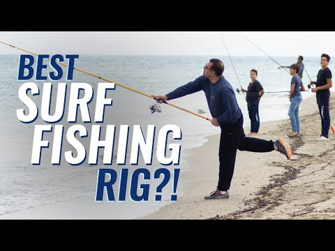 BEST Surf Fishing Rig?! - How To Tie The Spider Hitch Rig