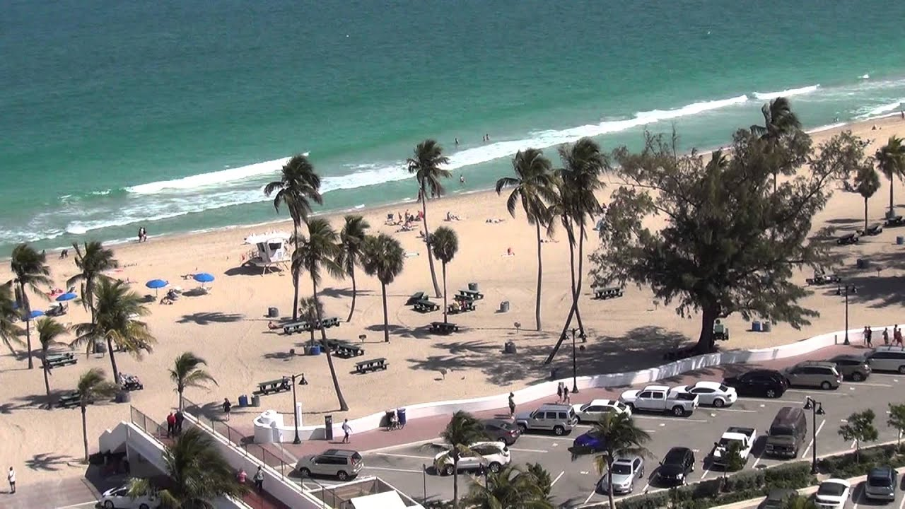 View From Room In Bahia Mar By Double Tree Hilton Fort Lauderdale You