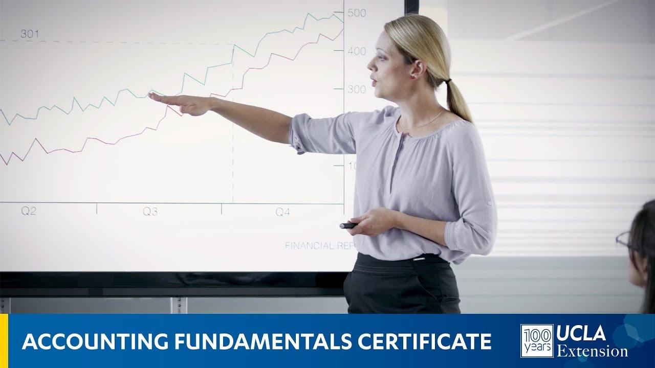 Accounting Fundamentals | UCLA Continuing Education